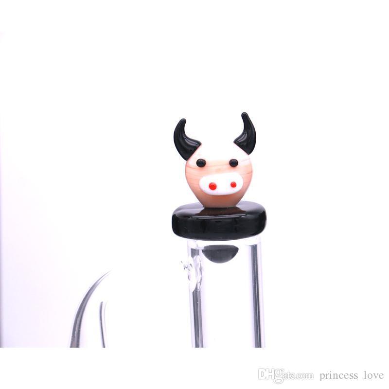Smoking Accessories Glass Carb Cap OD(25MM) mix styles For quartz Banger Cartoon Dome Cute USA