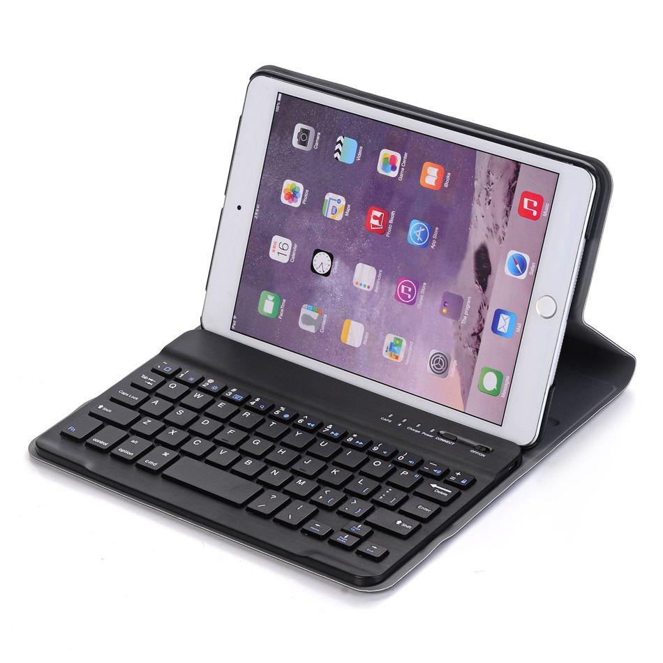 Custodia in pelle da tastiera Bluetooth con portamatita per iPad 10.2 pollici 7a 8a generazione A2197 Smart Cover