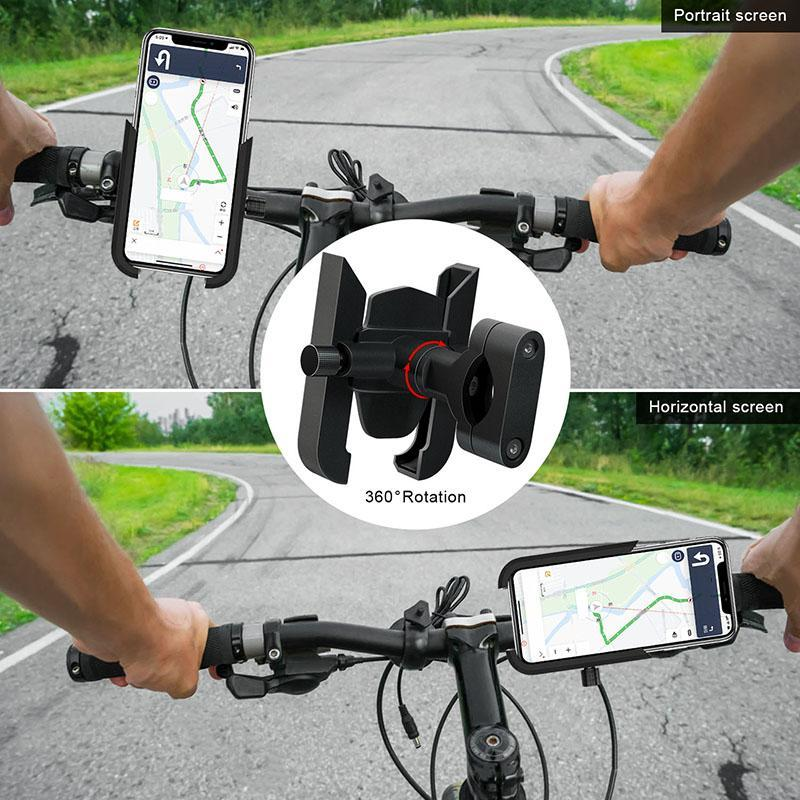 Titulares Titulares Titulares Handlebar Handlebar Holdercycle Holder para Celular Clipe de Celular Suporte GPS Mount Backet