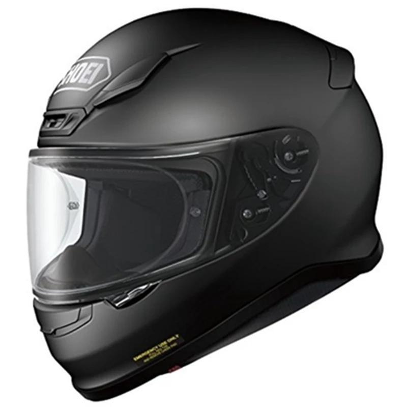 전체 얼굴 오토바이 헬멧 Z7 무광택 검은 승마 모토 크로스 레이싱 헬멧