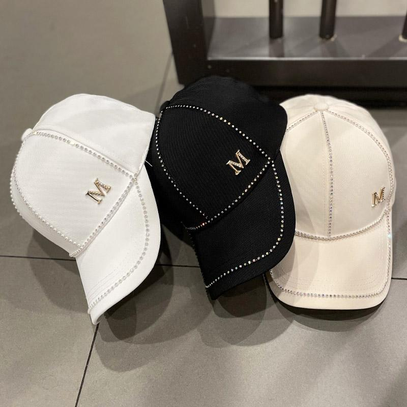 Casquette spring and summer hat womens diamond casual cap good quality men sun hats letter baseball caps wholesale