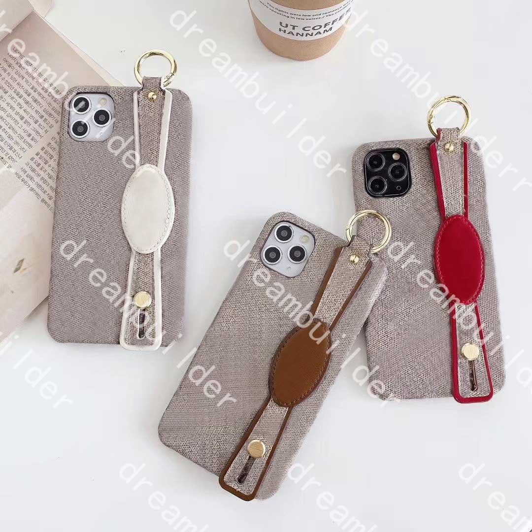 Moda iPhone 12 Pro Max Capas Mini 12mini 11 11PRO 11PROMAX X XS XR XSMAX 7P 8P 7 8 Plus PU Classic Leather Proteção Caso Designer Capa com Band Band Box