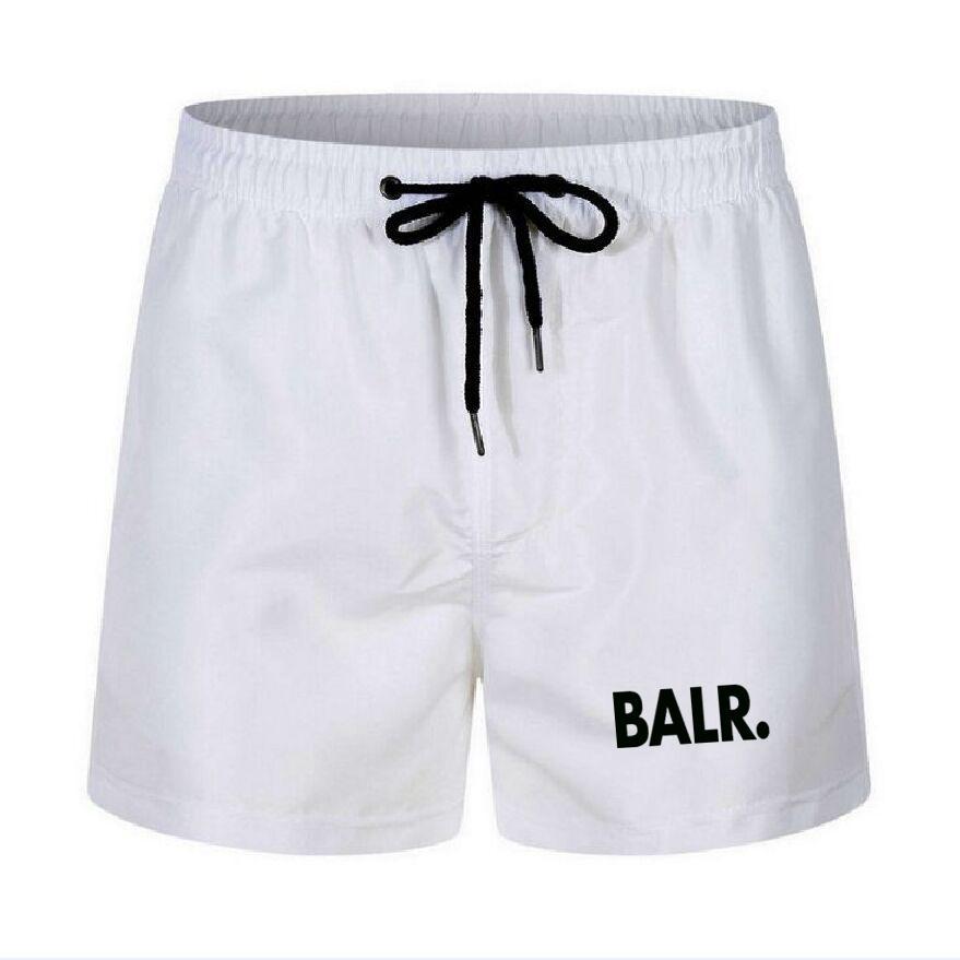 2021 Summer Casual Cotton Fashion Style Brand Stampa Pantaloncini da maschio coulisse in vita Elastico Pantaloni Beach Spiaggia 13 colori Plus Size S-4XL