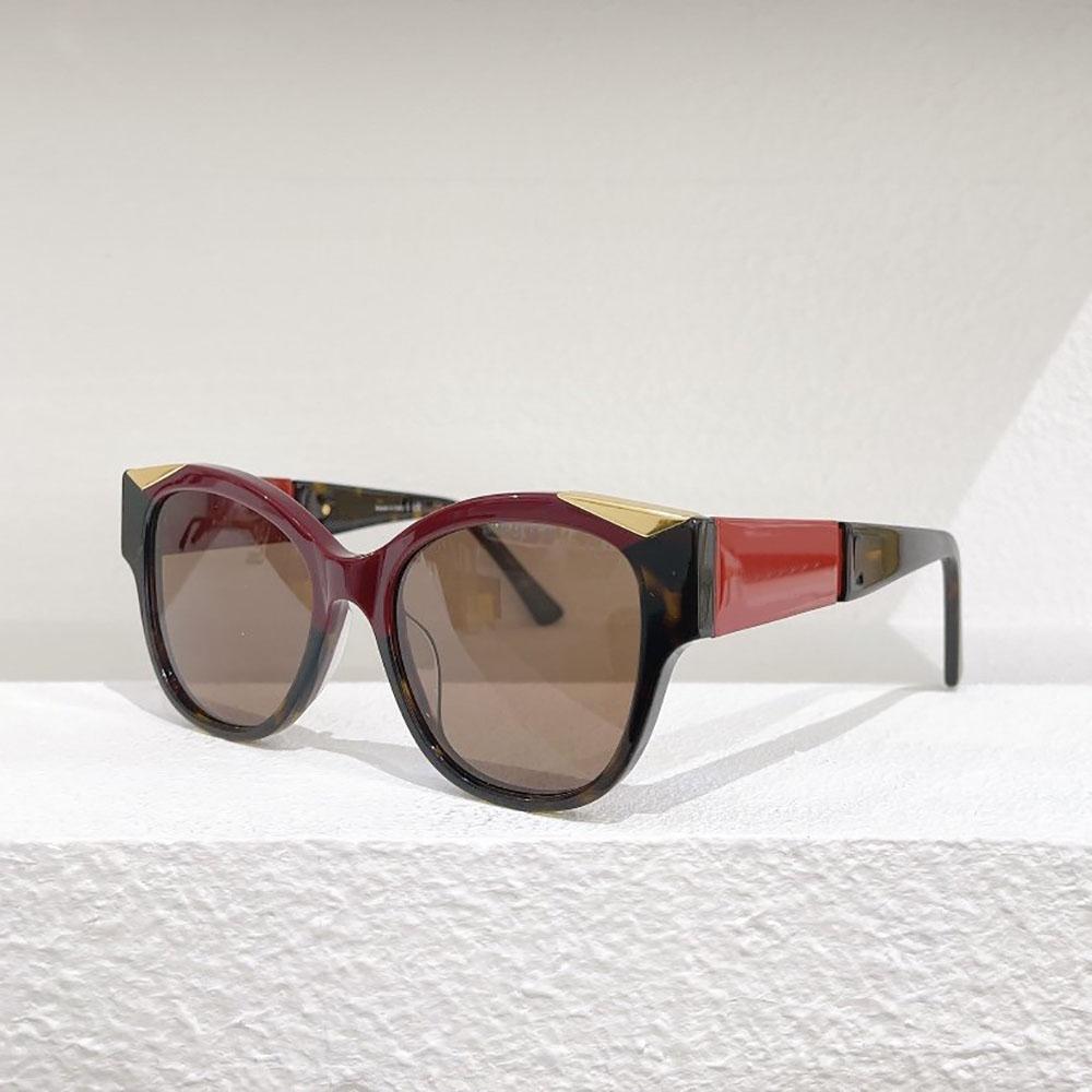 Designer di lusso occhiali da sole donne uomo moda occhiali moda tondo plancia full frame di alta qualità protezione UV boutique di fascia alta boutique multi accessori per occhiali misti con scatola