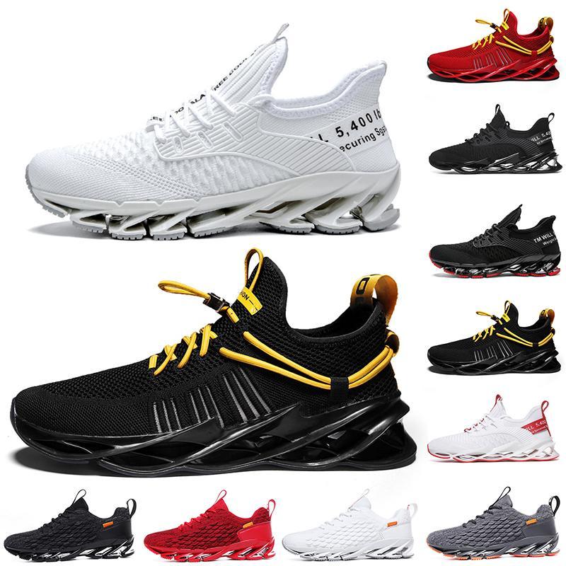Buena calidad Non-Brand Hombres Mujeres Running Shoes Blade Slip en Triple Negro Blanco Todos Rojo Gris Terracotta Warriors Mens Gym Trainers Zapatillas deportivas al aire libre