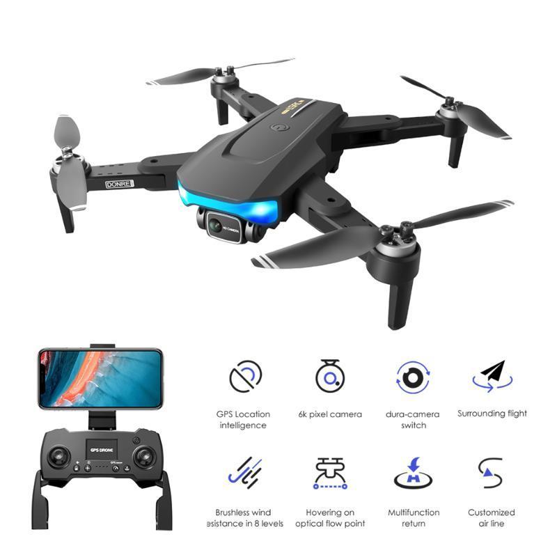 بدون طيار 6 كيلو GPS 5 جرام wifi fpv rc بدون طيار 1km لمسافات طويلة كاميرا التحكم عن درون فرش طوي كوادكوبتر