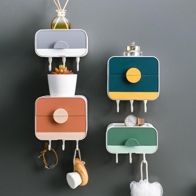 Estante de baño baño jabón caja de ducha esquina montaje en pared soporte de almacenamiento gadgets platos