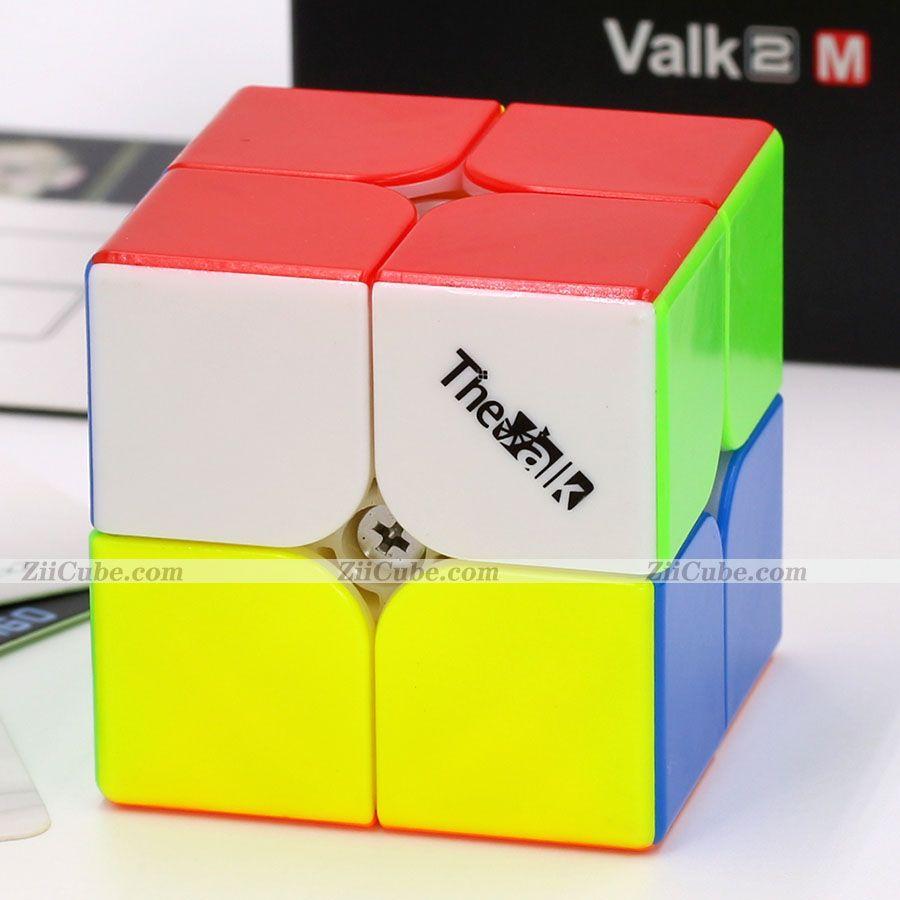Magic Cube Puzzle Qiyi XMD The Valk المغناطيسي 2x2x2 مكعب Valk2 M Cubo 2x2 The Valk 2m المغناطيس المهنية مكعبات السرعة التعليمية