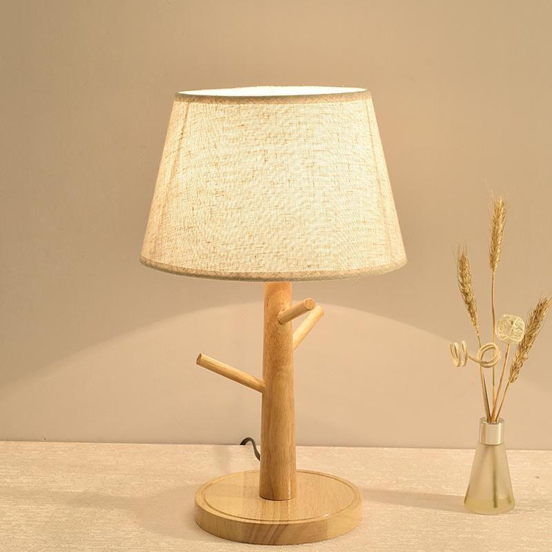 북유럽 LED 유리 크리스탈 램프라 드 메사 데 데코 Mariage 거실 램프 침대 옆 테이블 램프