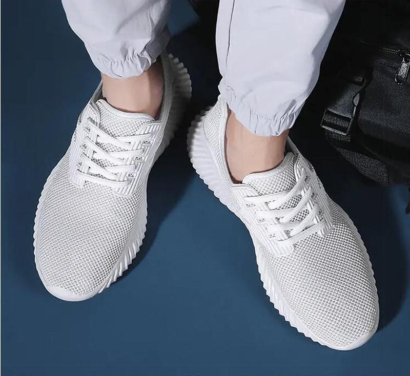2021 رجل الاحذية أزياء الصيف الأبيض الأسود الملكي الأزرق الشبكة الصفراء هي المدربين الجوف والتنفس الرياضة رياضة الأحذية اثنين