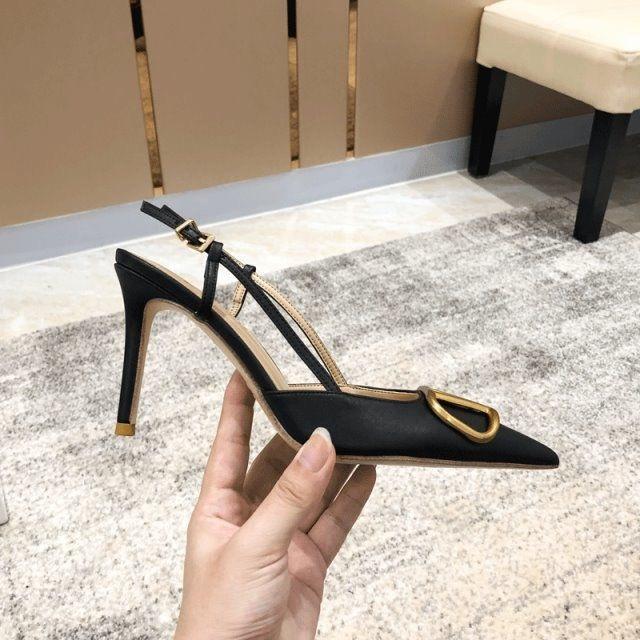 2021 النساء الصنادل الأزياء الخامس عالية الكعب أحذية الصيف الإناث مثير رقيقة الزفاف sandalias الصلبة