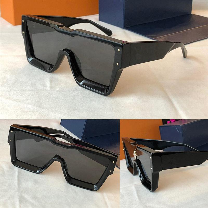 Sunglasses For Men and Women Summer style Anti-Ultraviolet Retro Square Plate Invisible Frame fashion Eyeglasses Random Box 1485