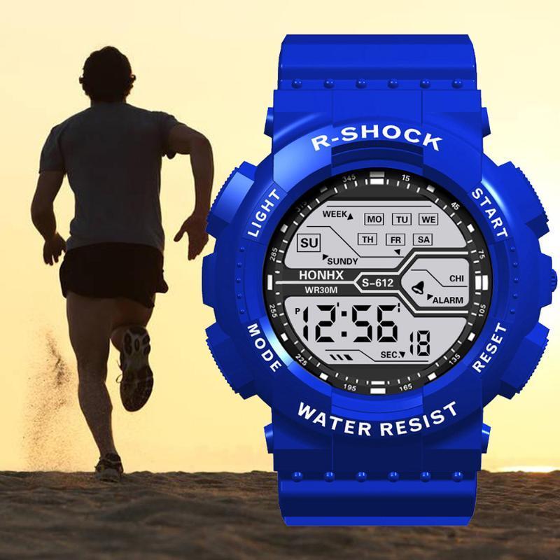 Esporte militar digital relógio para homens moda casual relojes hombre 2021 namorado presente relogio masculino estudantes impermeáveis uhr wristwatche
