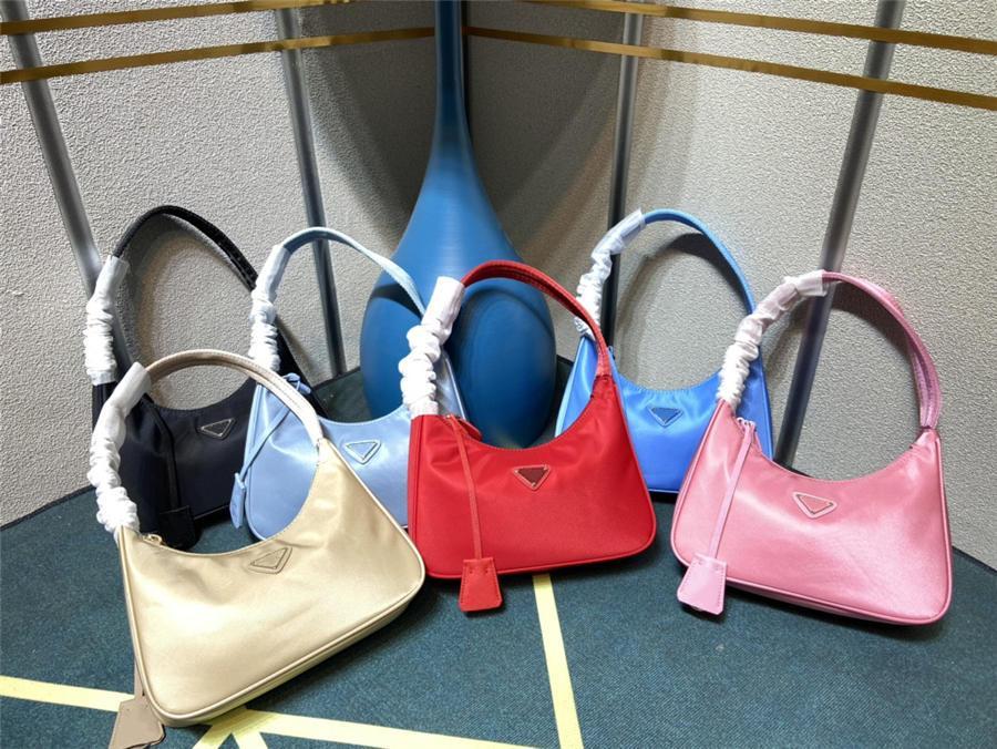 2021 Verkauf 10 Farbe 2000 Wiederholungsversion Frauen Crossbody Bag Original Nylon Handtaschen Geldbörsen Lady Tote Umhängetaschen
