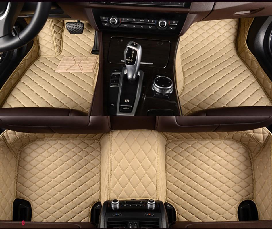 kalaisike car floor mats for Ford All Models kuga ecosportcar mondeo fiesta F-150 focus Explorer Mustang accessories