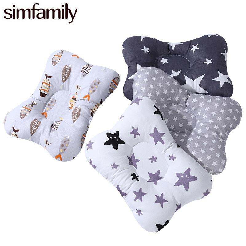 Newborn Pillow Infant Baby Nursing Support Cartoon Concave Printed Pillow Shaping Cushion Avoid Flat Head 2496 Q2