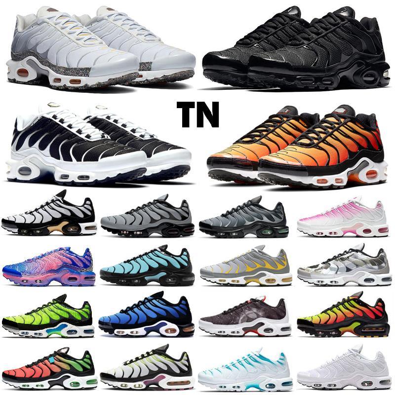 Nike air max tn plus se Mercurial Designer Sneakers Chaussures Homme TN Running Shoes Men Zapatillas Mujer Mercurial TN Running Shoes 36-46