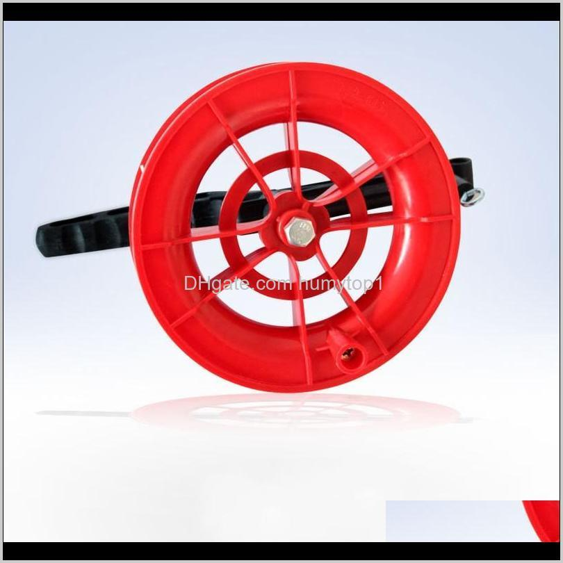Kite String Line Grip Handle Tool Accessories Reel Red Wheel Tyre Wire Flying Belt Spool Top Quality 4Hy F Pdcdh Bfpkk