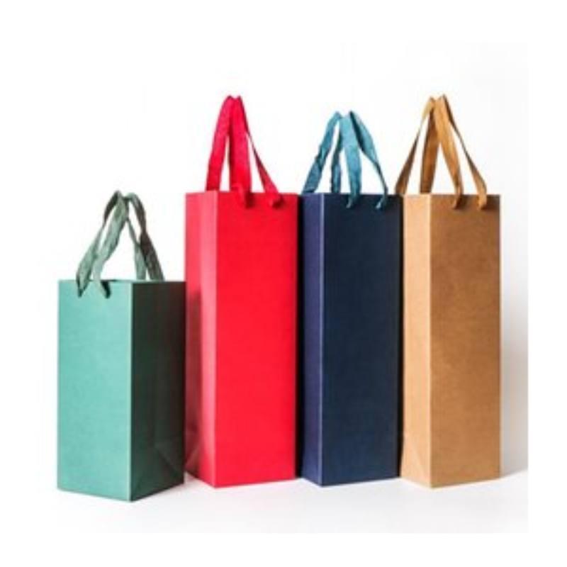 크리 에이 티브 포장 가방 선물 포장 상자 빨간색 와인에 대 한 문자열 상자 용지 champange 병 캐리어 선물 홀더 와인 포장 1 652 r2