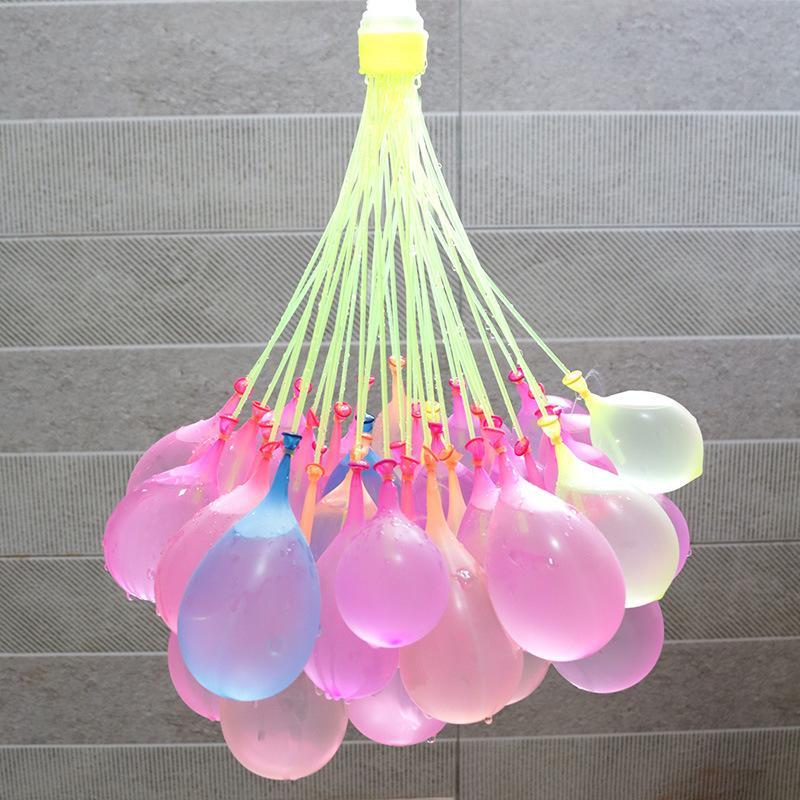 3 조각 / 세트 물 풍선 빠른 물 사출 마법 장난감 풍선 키즈 물 싸움 여름 재미 장난감