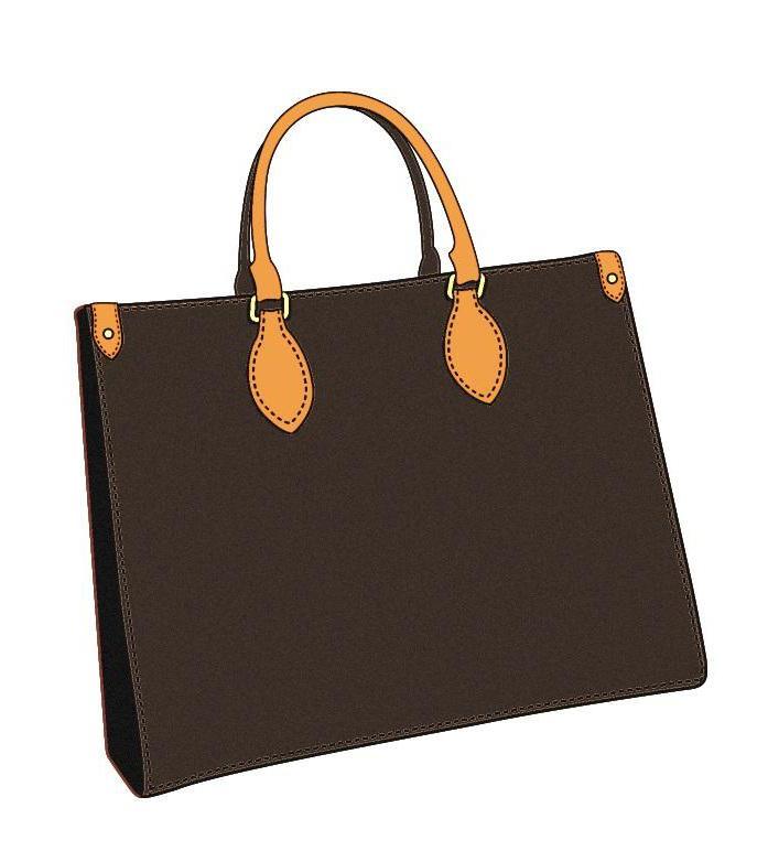 Casual tamanho grande saco clássico estilo couro carta de lona marrom preto flor mulher senhoras compras tote