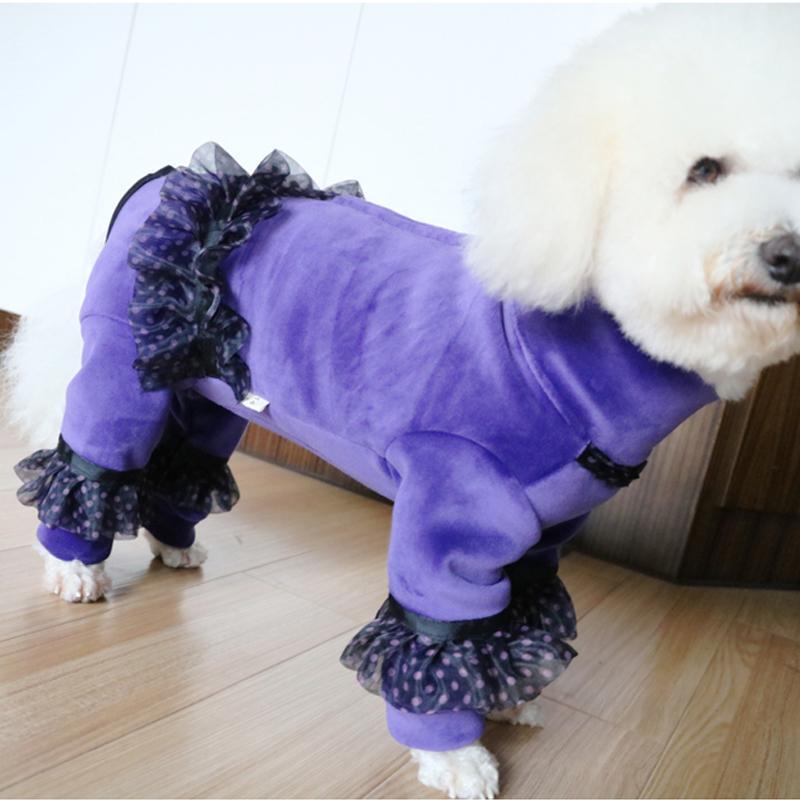 Pet inverno moda cucciolo vestiti per cuccioli tuta sportiva per piccolo tuta calda medio cappotto morbido velluto felpe con cappuccio in velluto chihuahua abbigliamento