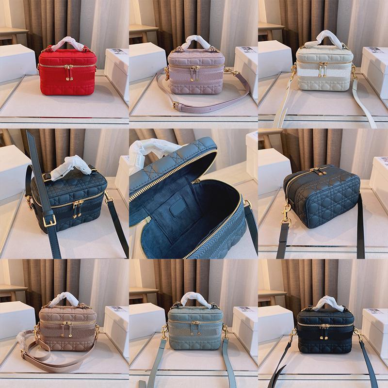 2021 marca designer make-up bolsa feminina moda luxo sacos de ombro clássico retro cruz em forma de bolsa de bolsa 19 * 11 * 14cm