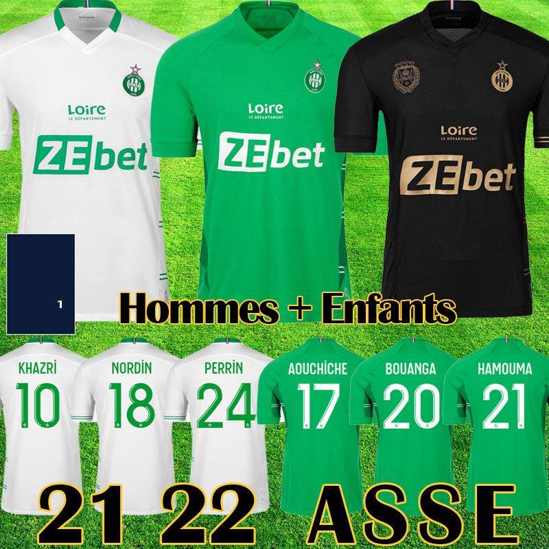 19 20 maillot AS Saint Etienne Camisas De Futebol 2019 2020 maillot ASSE Etienne KHAZRI CABELLA BERIC NORDIN HAMOUMA Camisas de futebol