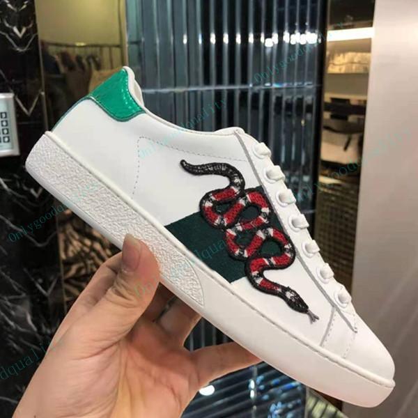 Top Quality Moda Homens Mulheres Casual Sapatos Preto Branco Para Mens Sneakers Corredores Esportes com Caixa 35-45
