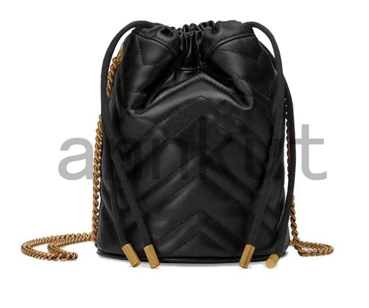 حقيبة جلدية جلدية حقيقية، المرأة مصغرة حجم العلامة التجارية marmont أكياس مصمم الفاخرة سيدة حقيبة يد crossbody المحافظ حقيبة الظهر حقيبة الكتف