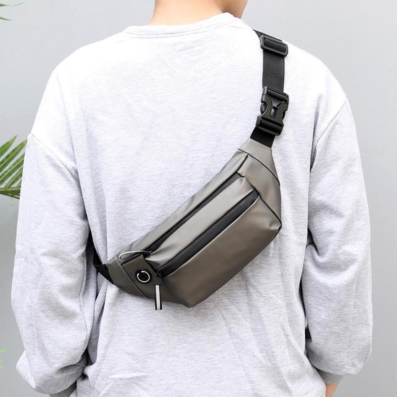 Tasche Taschen Wasserdichte Mann Tasche Mode Brust Pack Outdoor Sports Crossbody Casual Reise Unisex Bum Gürtel