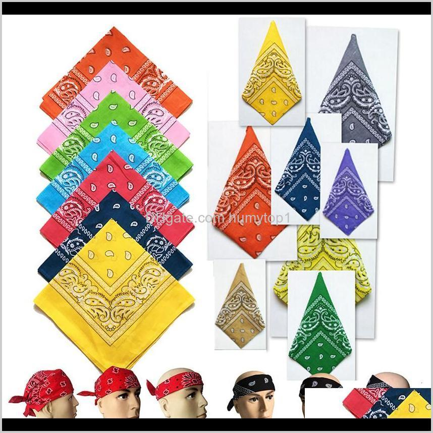 Cycling Bandana Headband Square Scarf Paisley Hair Bands Outdoor Sports Headwear Zza2329 2400Pcs Maubi X5Hfq