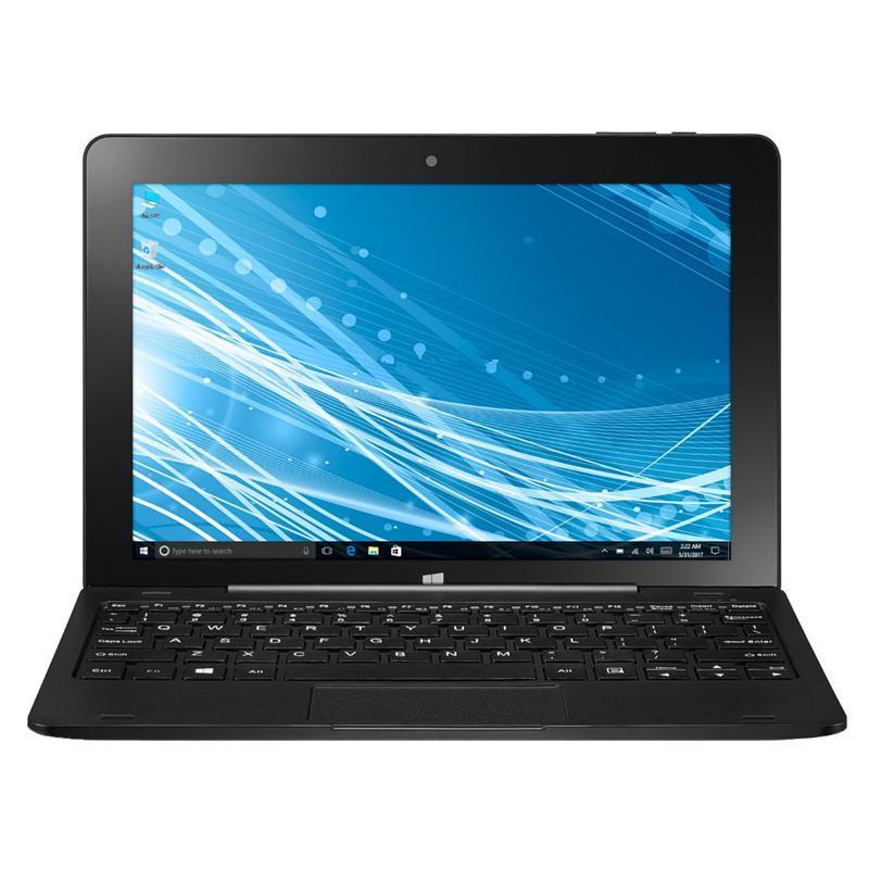 10,1 polegadas OS W8100 Windows 10 Tablet PC com teclado de ancoragem de pino Z8350 2GB + 32GB 1280x800 IPS WiFi -Compatible GPS