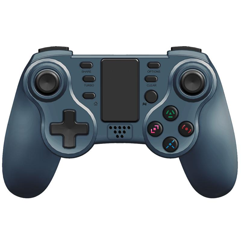Wireless Bluetooth Gamepad Juanstick Controller Game Console Accessory USB Handle No Logo ل PS4 PC مع مربع
