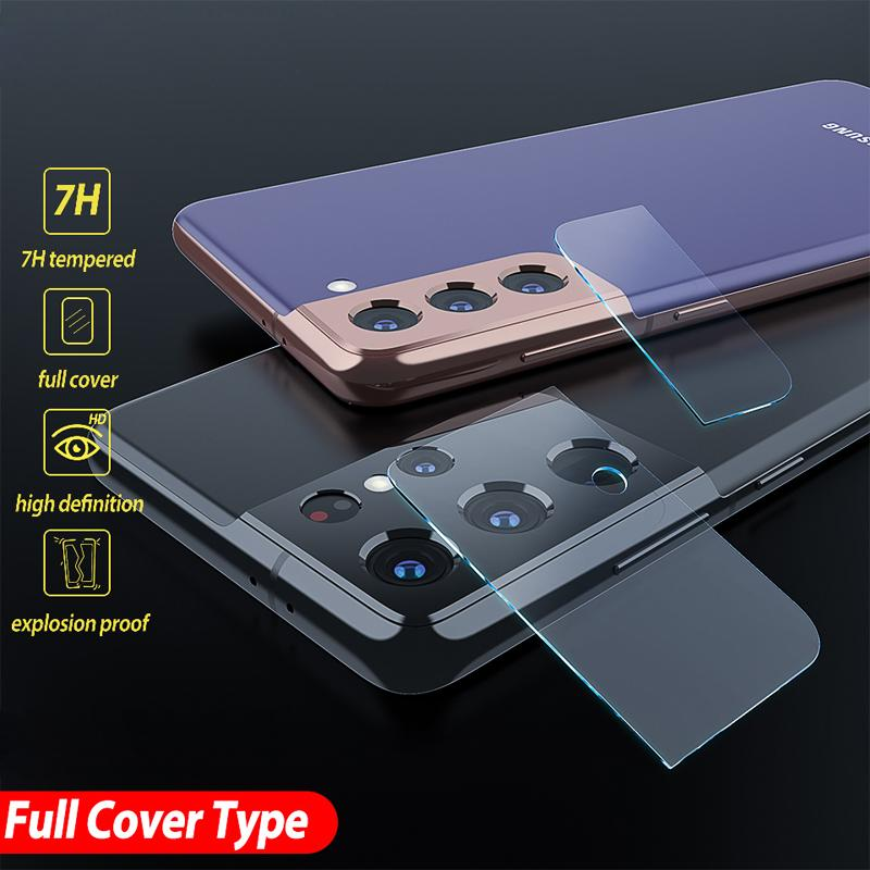 Full Cover Screen Protector Camera Lens Tempered Glass For Samsung Galaxy S20 FE S21 Plus Note 20 Ultra A21S Z Fold2 A02S A31 A51 A71 A12 A42 A52 A72 A22 4G 5G A03S