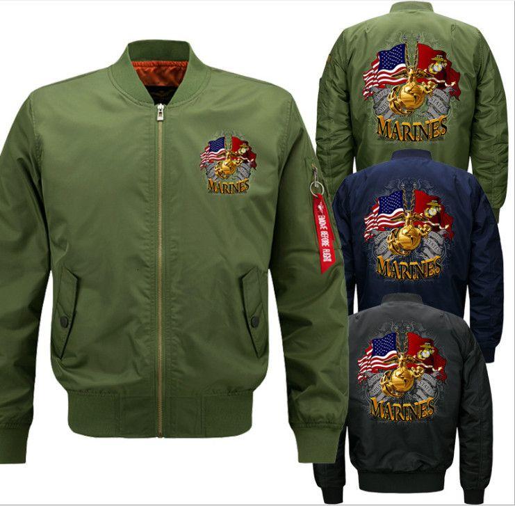 DesignerBig Größe Thin Classic Bomber Mantel Männer MA1 Polit Jacken Wasserdichte Herren Windrunner Retro Stehkragen Herbst Mann Kleidung Plus Größe S-8XL