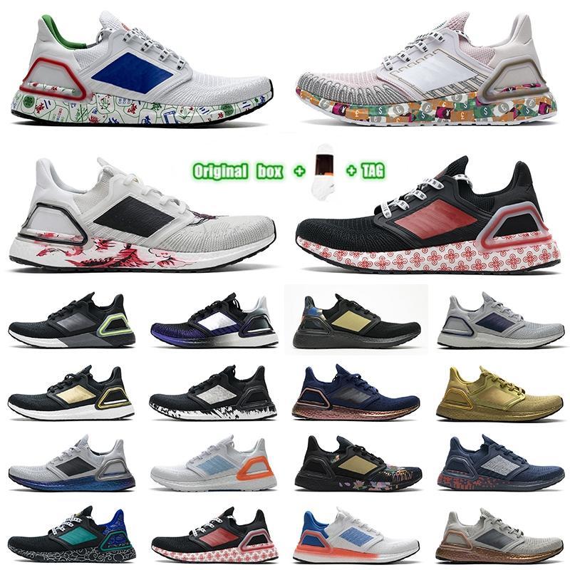 [Original Box + Socks + Tag] 2021 Adidas UltraBoost 20 Ultra Boost shoes Ultra Boost 20 UB 6.0 러닝 신발 Mens Se 트리플 오렌지 글로벌 통화 골드 메탈릭 런 라이트 Zapatos 트레이너 스니커즈 36-45