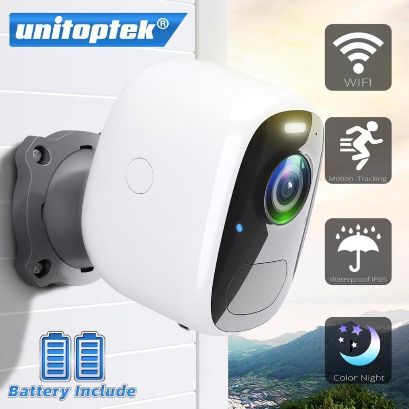 بطارية IP كاميرا الأمن 1080P في الهواء الطلق ماء قابلة للشحن واي فاي لاسلكي الدوائر التلفزيونية المغلقة مراقبة البير كشف الحركة كاميرات كامير