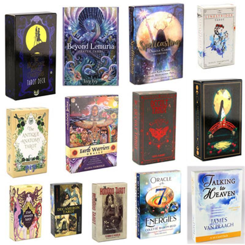 Okkulte Fahrt Tarot del Fuego Karten E-GuideBook Spiel linarker Träume Spielzeuggöttination Stern Spinner Muse Hoodoo
