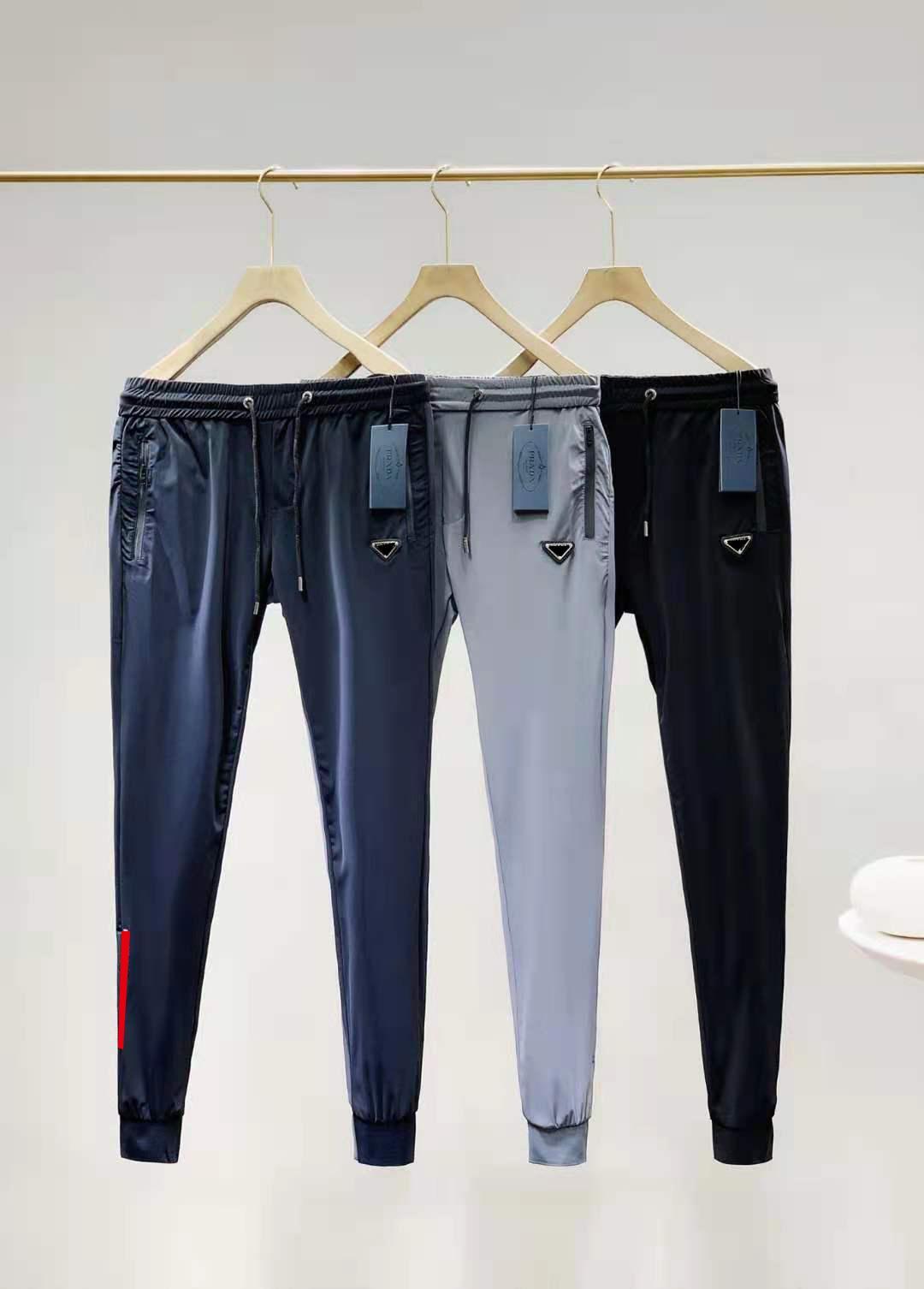 Erkek parça pantolon yaz plaj trouse erkekler kadınlar için unisex harf baskılı çizgili dış giyim sokak firmaları kazak pantolon İpli ayarlamak M-2XL