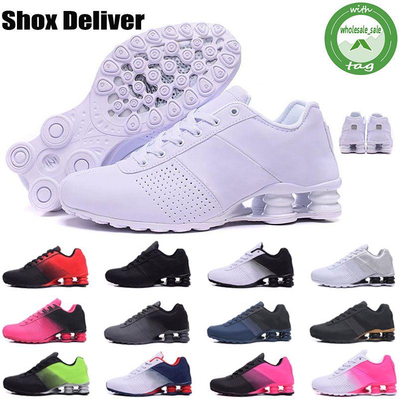 Shox Deliver 809 chaussures 809 homme chaussures livrer de basket pas cher turbo NZ tennis de course supérieure conçoit des baskets de sport pour hommes formateurs en ligne