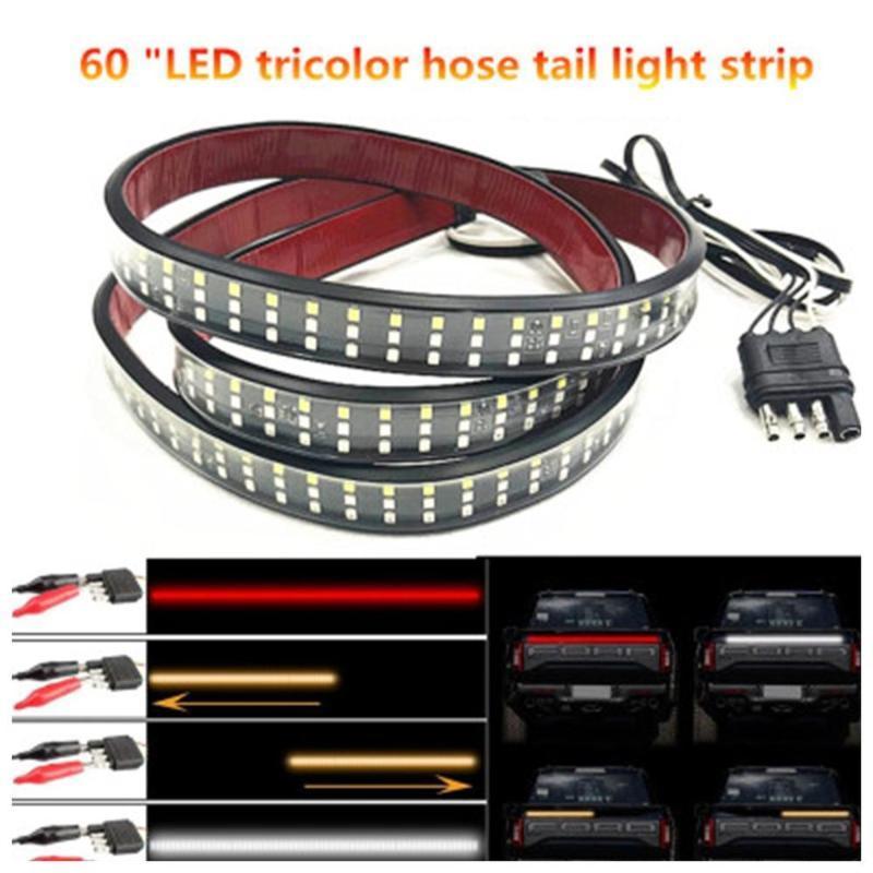 "Strips 60 ""Pollice pollice Tailgate LED Light 3528 Strip Bar Brake Reverse Directory Segnale Stop Impermeabile Tail Lamparas 40Nov19"