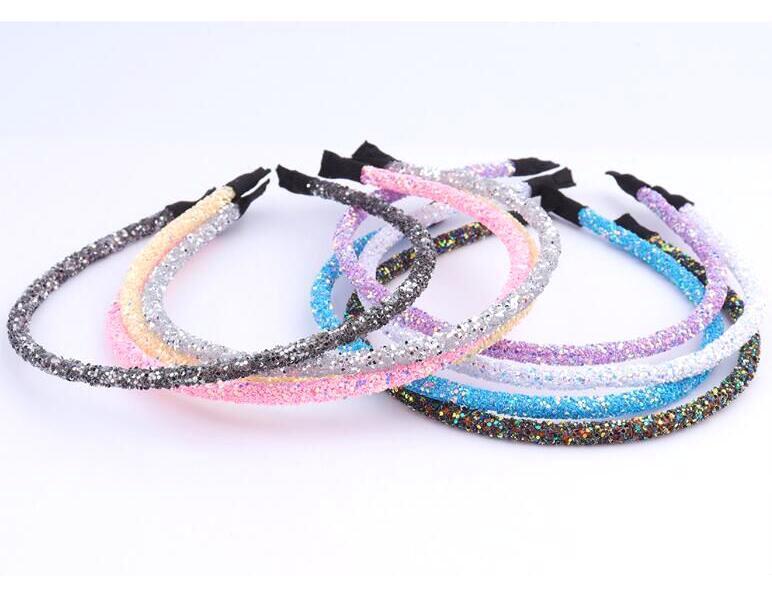 10st / lot mix färger kristall huvudband hårband smycken för mode hår smycken hj13 gratis shipp
