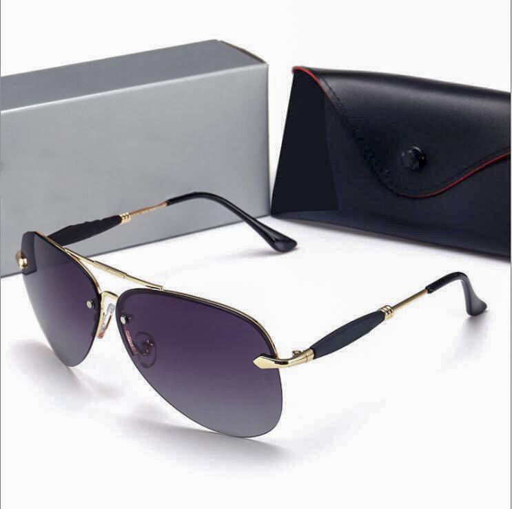 الأزياء الشمسية كاسكايس سكوير جوفاء إطار جودة بسيطة الرجال في الهواء الطلق نظارات شمسية مع box3515