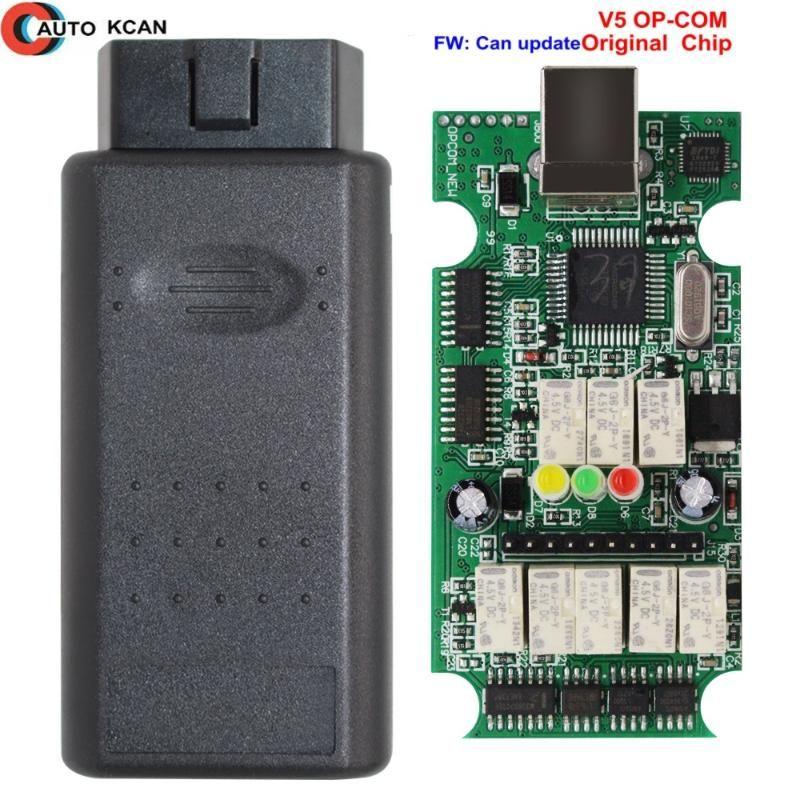 For OP COM 1.59 Flash Firmware Update Car Diagnostic OP-COM 1.99 PIC18F458 CAN BUS OBD OBD2 Auto Tools@6 Tools