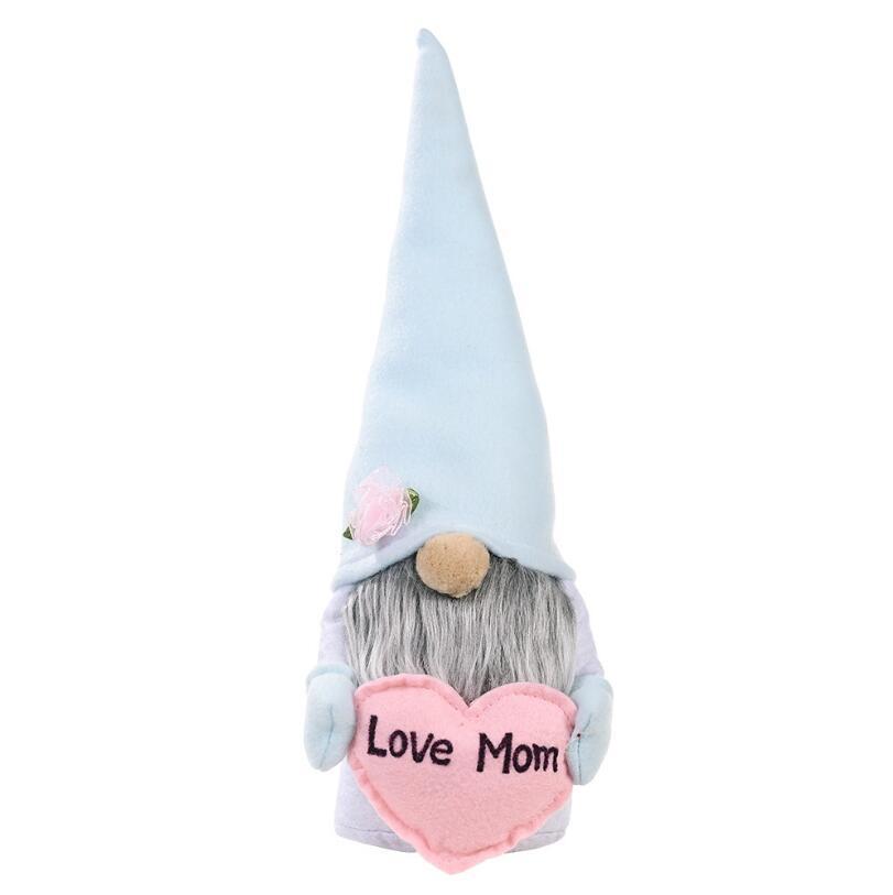 Anneler Günü Cüceler Yüzsüz Bunny Cüce Bebek Tavşan Peluş Oyuncaklar Aşk Anne Çocuklar Hediye Mutlu Paskalya Parti Ev Dekorasyon HHC7050