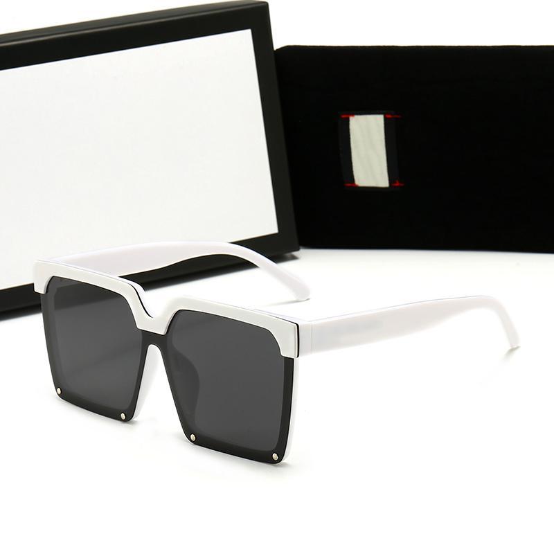 النظارات الشمسية الاستقطاب المرأة عالية الجودة أزياء شخصية إطار كبير الشاي قطعة النظارات الشمسية السفر نظارات 561 مع مربع حالة