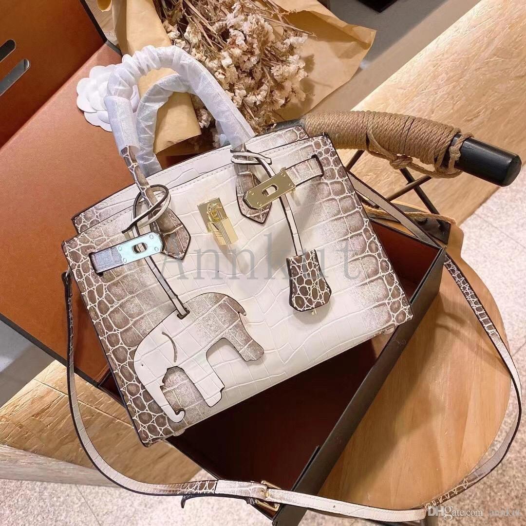 حقائب جلدية هيمالايا، سيدة الجينات الجينى الشهيرة الشريط الأزياء حمل حقيبة يد المرأة