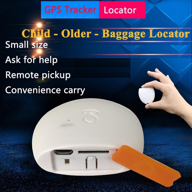 Mini Mikro GPS Tracker Bulucu Çocuklar Çocuklar için, Aktif Yaşlılar ve Bagaj Bavul Izleme Cihazı Anti-kayıp Alarm
