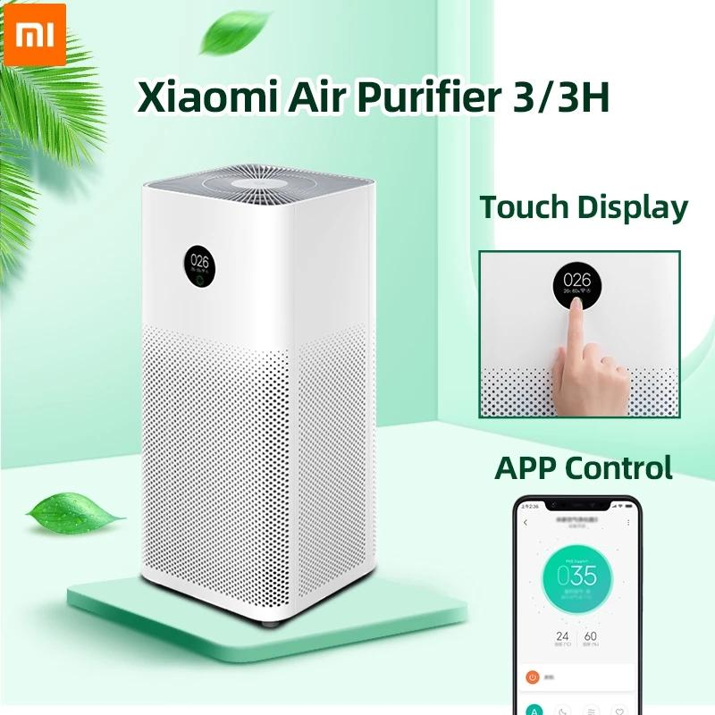 Очиститель воздуха Xiaomi 3 3H Фильтр MI Air Cleaner Fresh Ozone Home Auto Smoke FormalDehyde Стерилизатор CUBE Smart Mijia Control